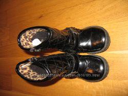 Лакові демі чобітки F&F