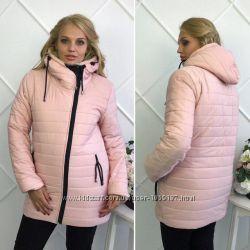 Зимняя куртка для женщин. Розовый. Размеры 46-54