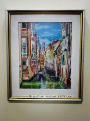 Таинственный город на воде. Венеция. Полное оформление.
