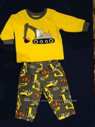 Пижама флисовая Carter&acutes. 12м.