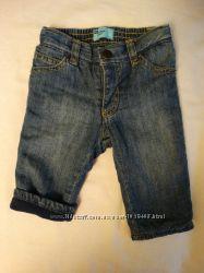 Теплые джинсы на флисе,  OLD NAVY, 6-12м
