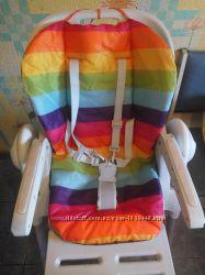 Чехол на стульчик для кормления, Chicco Polly, матрасик в коляску