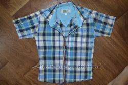 Фирменная рубашка Lacoste для маленького модника