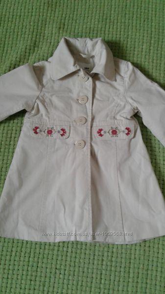 Пальто на девочку 1. 5-2 года