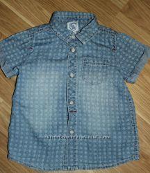 Джинсовая рубашка Chicco