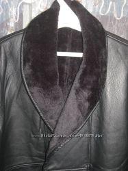 Натуральная кожа, зимняя курточка