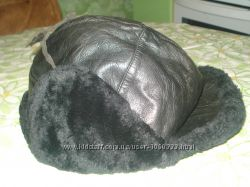 Зимняя шапка-ушанка на мальчика