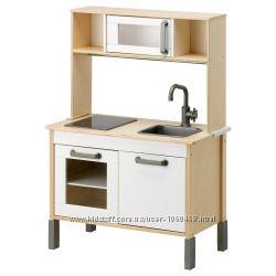 Ikea Икеа Дуктиг Детская кухня, березовая фанера, белый