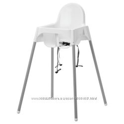 Ikea Икеа Антилоп Высокий стульчик с ремнем безопасности