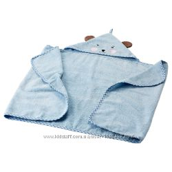 Ikea Икеа Бадет Полотенце с капюшоном