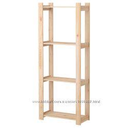 Ikea Икеа АЛЬБЕРТ Стеллаж, хвойное дерево сосна