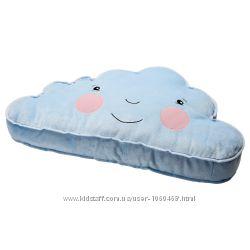 Ikea Икеа Фьедермольн Подушка в виде облачка, голубой