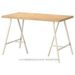 Ikea Икеа ЛИННМОН ВИКА ЛЕРБЕРГ Стол. 120х74х60. 5 вариаций цветов. См. фото