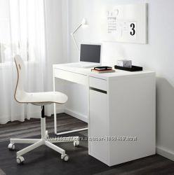 Ikea Икеа МИККЕ Письменный стол с отдел. для хран. Разные цвета, см. фото