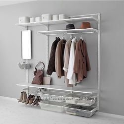 Ikea Икеа АЛЬГОТ Настенная система для хранения