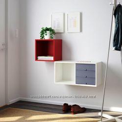 Ikea Икеа ВЭЛЬЕ Навесной шкаф, полка. Есть разные цвета и модели.