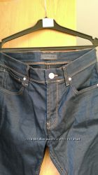 джинсы темно-синие