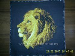 Продам вишиту картину Лев