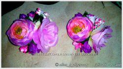 Резинки для волосся з квітами