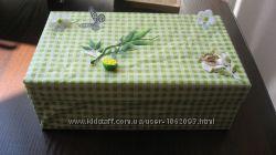 Коробка подар весна