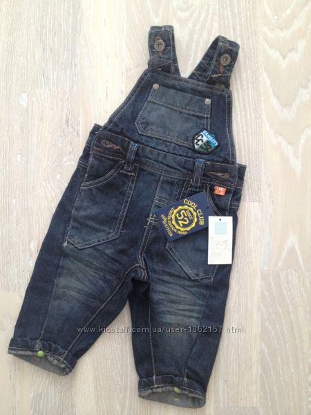 классный джинсовый комбинезон Cool Club на мальчика
