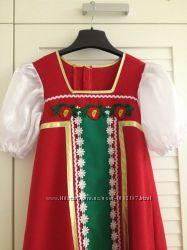 Карнавалый костюм для утренника - народный сарафан