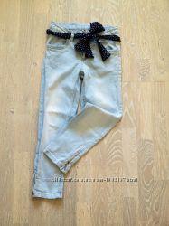 Наши модные джинсы Cool club в отличном состоянии на 9-13 лет