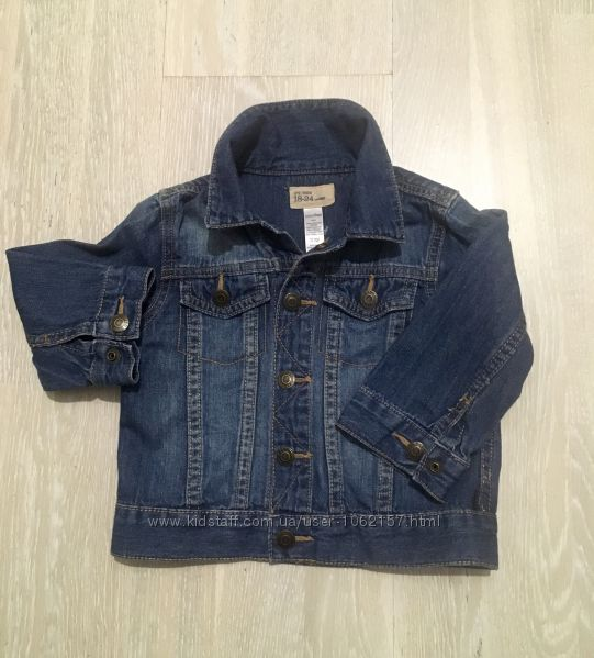 Фирменная джинсовая курточка Gap 18-24 мес. в отличном состоянии