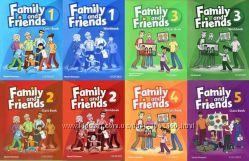 Учебники Family and Friends 1-6 уровень Class book  Work book копии
