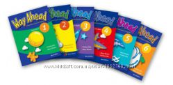 Учебник Way Ahead Pupil&acutes book и work book 1-6 уровни