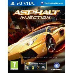 Игры PS VITA и PS3 в ассортименте Asphalt Injection