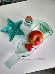 Шикарные  печенные бутылочки-тарелочки для винных закусок