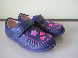 Новые туфли-мокасины Clarks, р. 27, 5