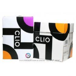 Бумага офисная Clio 500листов, формат А4, белая. Финляндия. 5 пачек.