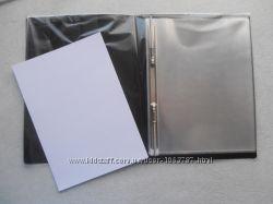 Папка со скоросшивателем формата А 5 и с файлами