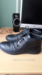 Кожаные  ботинки МИДА демисезон 39р