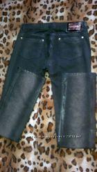 Джинсы-брюки коричневые 48р