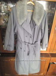 Пальто зимнее на меху 48-50р