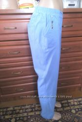 Красивые летние брюки на резинке 50-52-54р