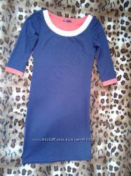 Oodji стильное силуэтное платье по фигуре 44-46р