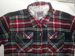 Классная теплая рубашка ф-мы Intonation на 9-10лет р. 134