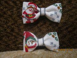 Вишита бабочка краватка-метелик
