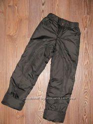 Утеплені штани на дівчинку на зріст 140 см