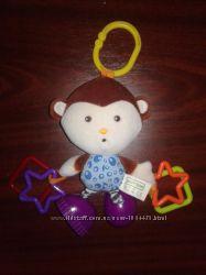 Продам фирменную  игрушку-подвеску вибрирующая Обезьянка , Baby Team