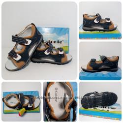 Кожаные сандали Германия, Испания, качественная обувь с24р по 30р