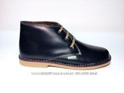Качественные, кожаные ботинки, т. м. Angelitos Испания Эксклюзив унисекс
