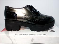 Кожаные Ботильоны, производитель Испания Женская обувь