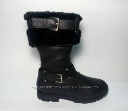 Детские зимние сапоги для девочки, тёплые, модные, удобные в носке