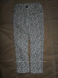 Джинсы леопардовые на 2-3года