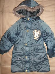 Куртка с минни маус удлиненная